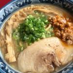 長野市長野駅近くの味噌ラーメン「麺匠 佐蔵」